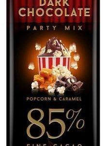 Leader Dark Chocolate 85 % Popcorn Caramel