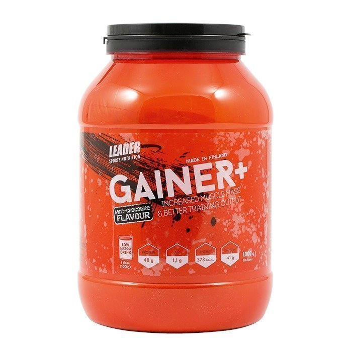 Leader Gainer+ 1000 g Mint Chocolate