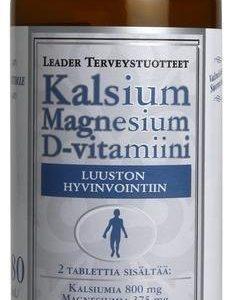 Leader Kalsium-Magnesium-D-Vitamiini