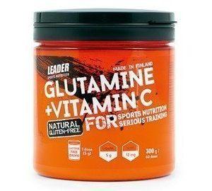 Leader L-Glutamiini+C-vitamiini