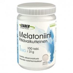 Leader Melatoniini 100kpl