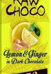 Leader Raw Choco Lemon & Ginger