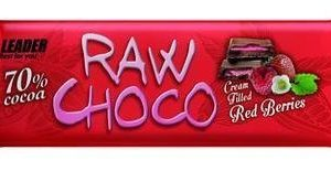 Leader Raw Choco Red Berries