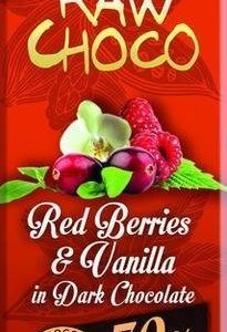 Leader Raw Choco Red Berries & Vanilla