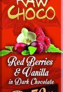 Leader Raw Choco Red Berries & Vanilla