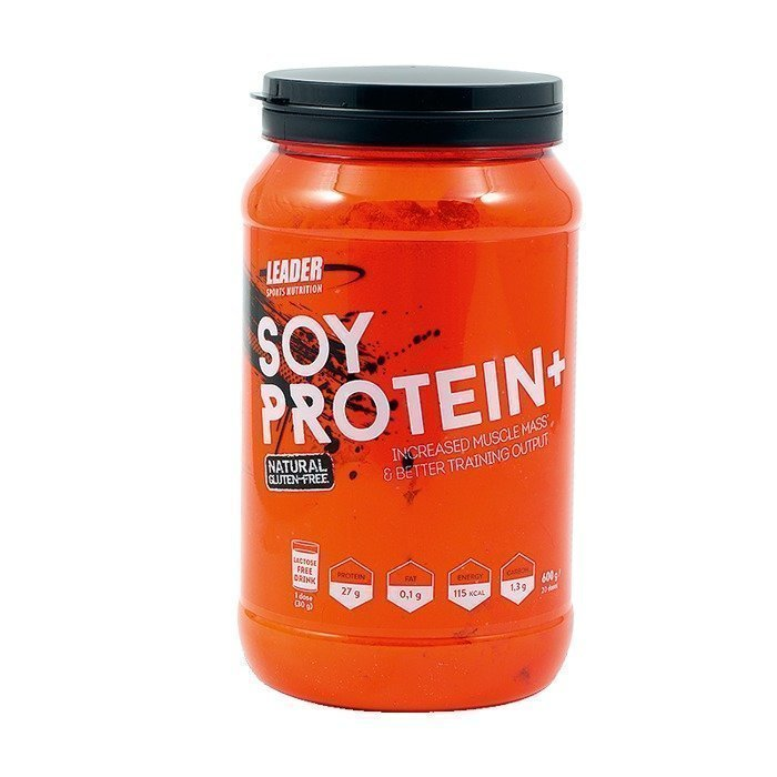 Leader Soy Protein+ 600 g Natural