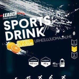 Leader Sports Drink Urheilujuomajauhe Sitrus