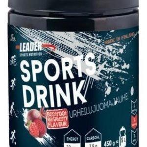 Leader Sports Drink Urheilujuomajauhe Vadelma-Punajuuri