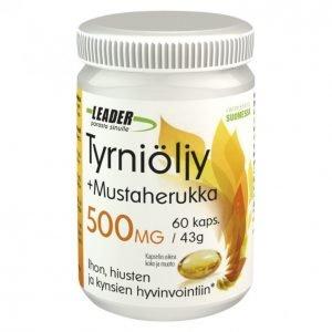 Leader Tyrniöljy + Mustaherukka 60kpl