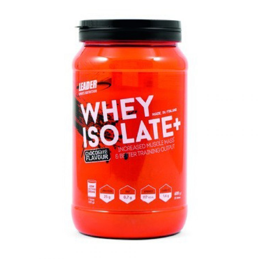 Leader Whey Isolate 600 G 600 G Tuubi Mansikka