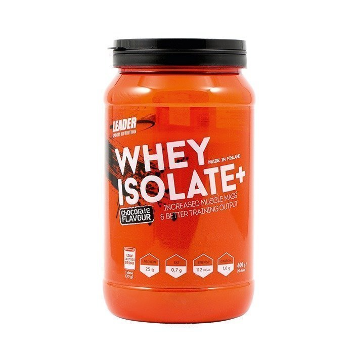 Leader Whey Isolate+ 600 g Chocolate