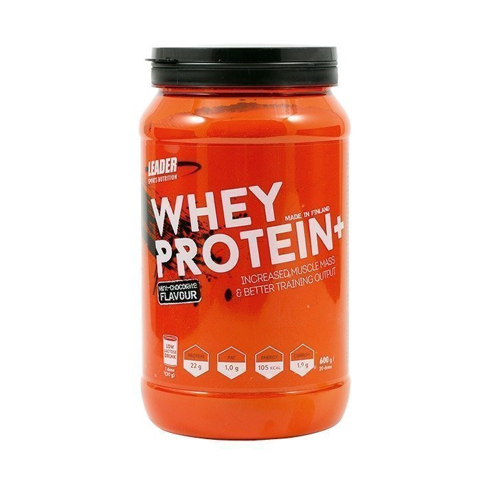 Leader Whey Protein+ 600 g Mint Chocolate