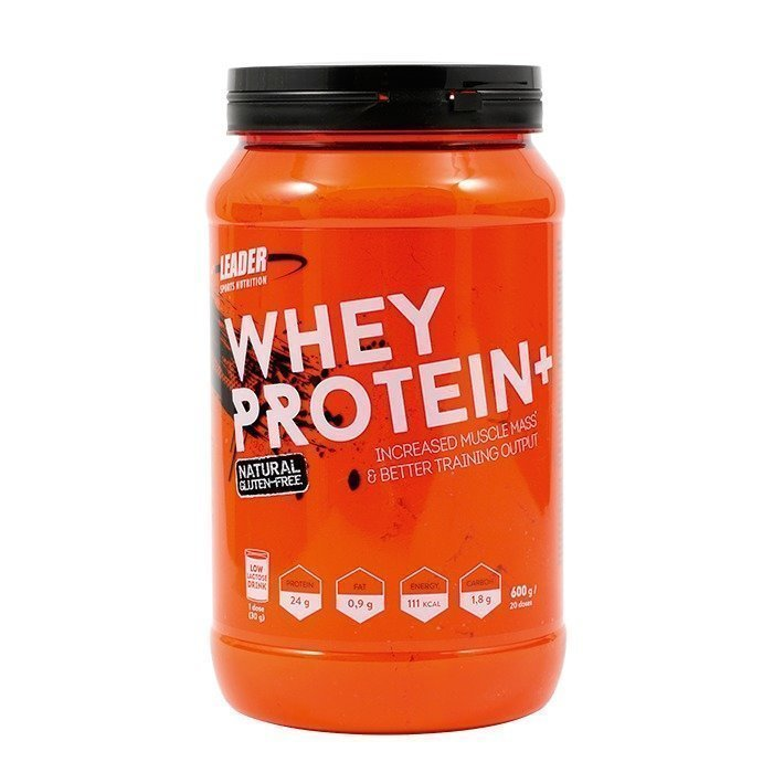 Leader Whey Protein+ 600 g Natural