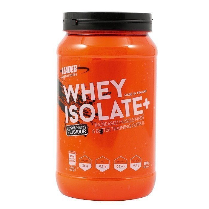 Leader Whey Protein+ 600 g Strawberry