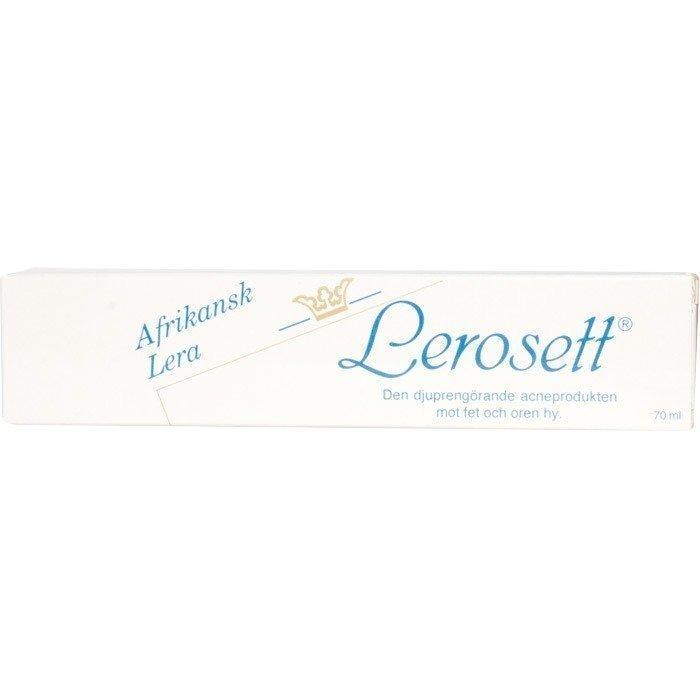 Lerosett rasvaiselle iholle kasvipohjainen 70 ml