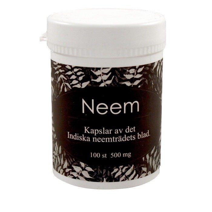 Life Products Neem kapselit 500 mg (kasvipohjainen) 100 kapselia