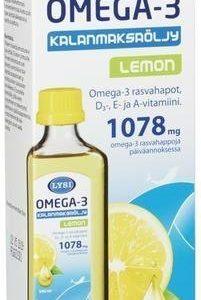 Lysi Omega-3 Kalanmaksaöljy Sitruuna