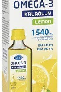 Lysi Omega-3 Lemon