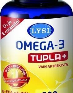 Lysi Omega-3 Tupla+
