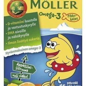 Möller Omega-3 Pikkukalat Sitruuna