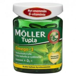 Möller Tupla Omega-3 100kpl