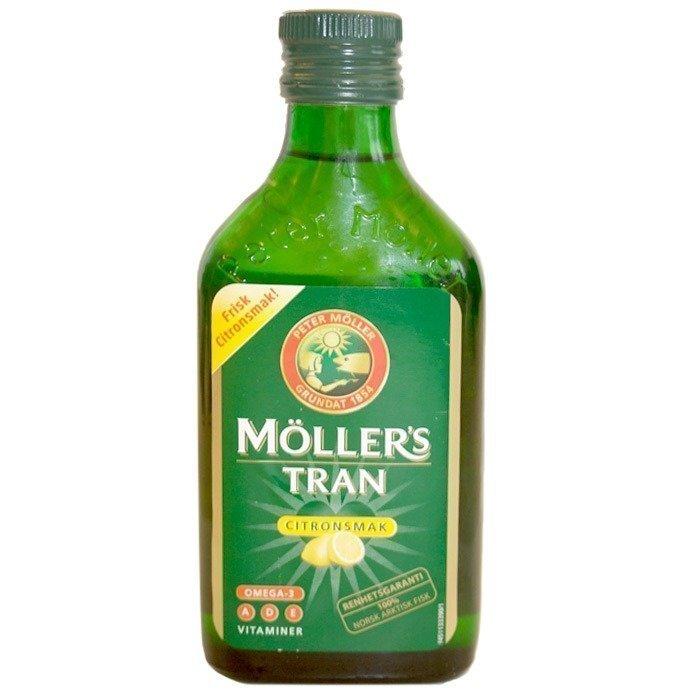 Möller s Möllerin Tran turskanmaksaöljy 250ml