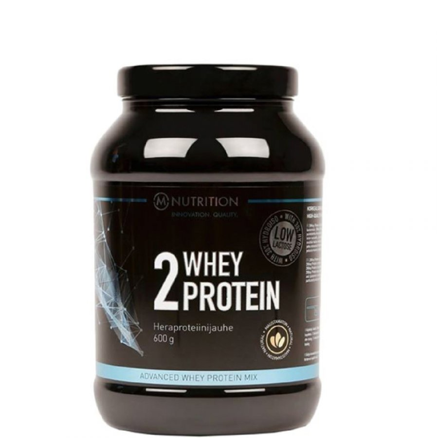 M-Nutrition 2 Whey Protein 600 G Tuubi Banaani