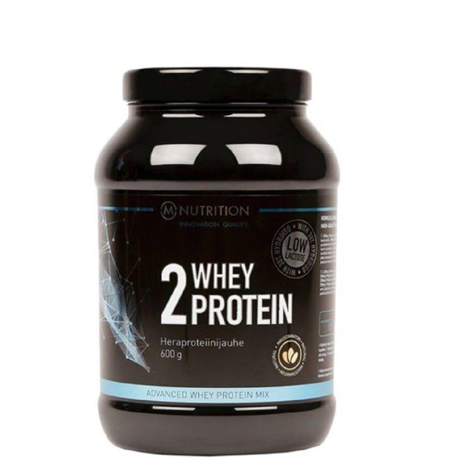 M-Nutrition 2 Whey Protein 600 G Tuubi Mansikka
