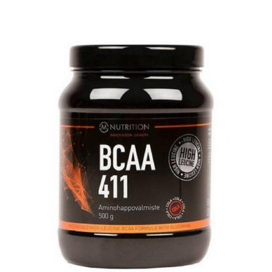 M-Nutrition Bcaa 411 500 G Tuubi Persikka