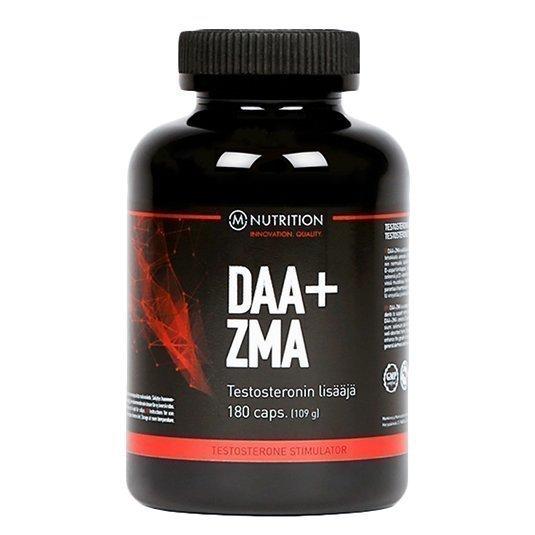 M-Nutrition DAA+ZMA testosteronin lisääjä 180 kaps.