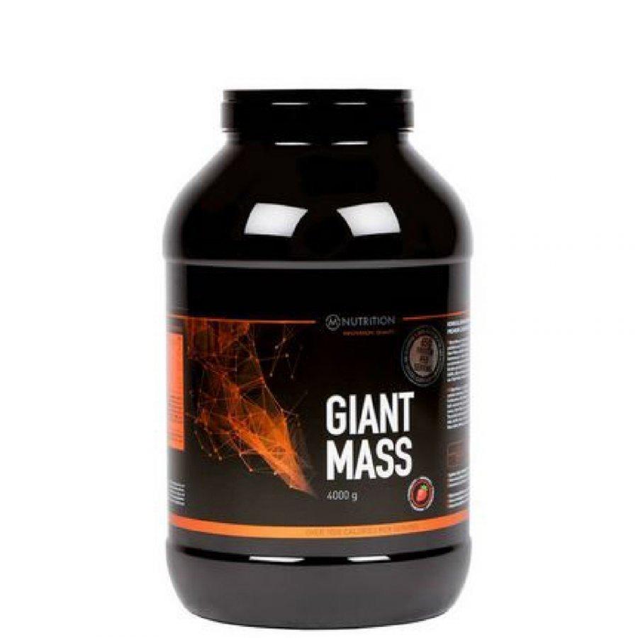 M-Nutrition Giant Mass 4 Kg Tuubi Mansikka