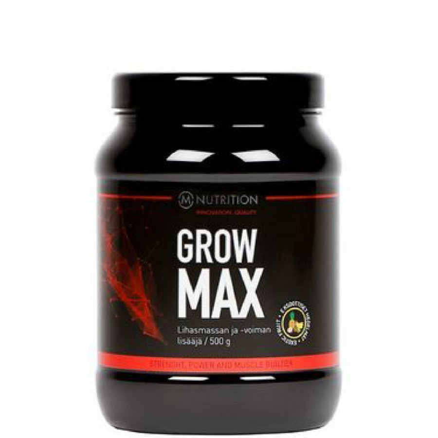 M-Nutrition Grow Max 500 G Tuubi Exotic Fruit