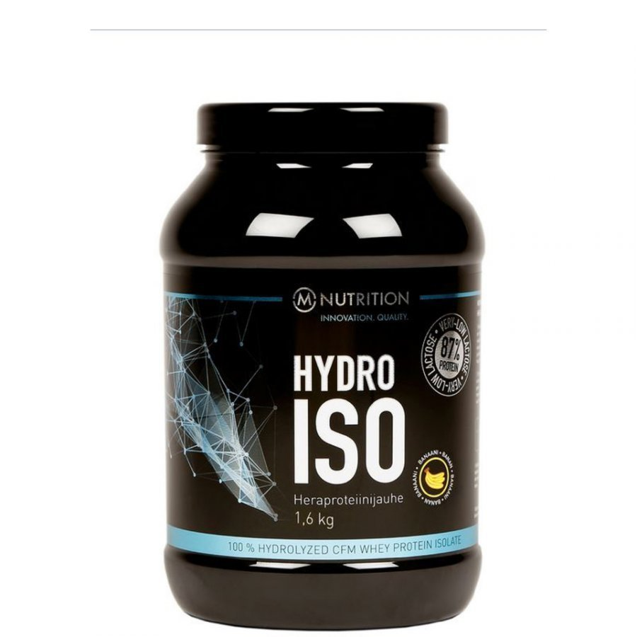 M-Nutrition Hydro Iso Whey 800 G Tuubi White Chocolate Hazlenut