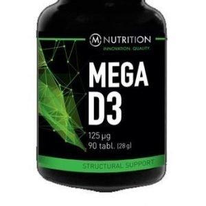 M-Nutrition Mega D3 125 µg
