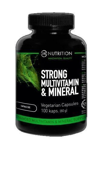 M-Nutrition Strong Multivitamin & Mineral