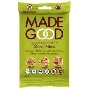 Madegood Gluteeniton Luomu Granolapallot Omena-Kaneli
