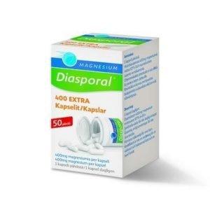 Magnesium Diasporal 400 Extra Kapselit