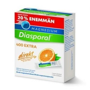 Magnesium Diasporal Direkt-Rakeet 400 Mg Kampanjapakkaus