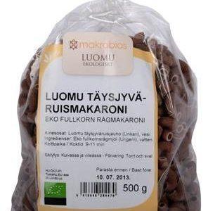 Makrobios Luomu Ruismakaroni