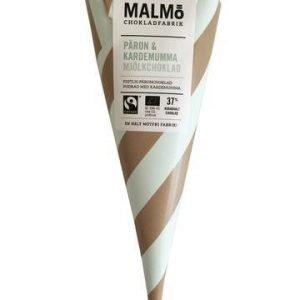 Malmö Chokladfabrik Luomu Maitosuklaa Konvehtituutti Päärynä-Kardemumma