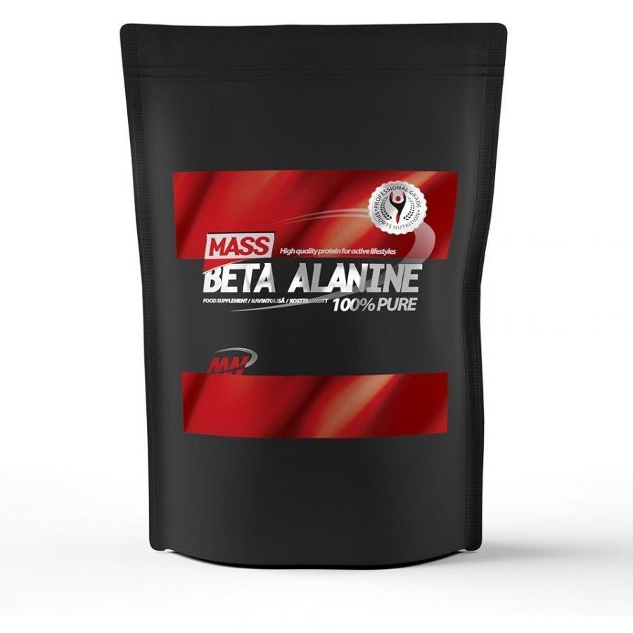 Mass Beta Alanine 1 Kg Pussi Maustamaton