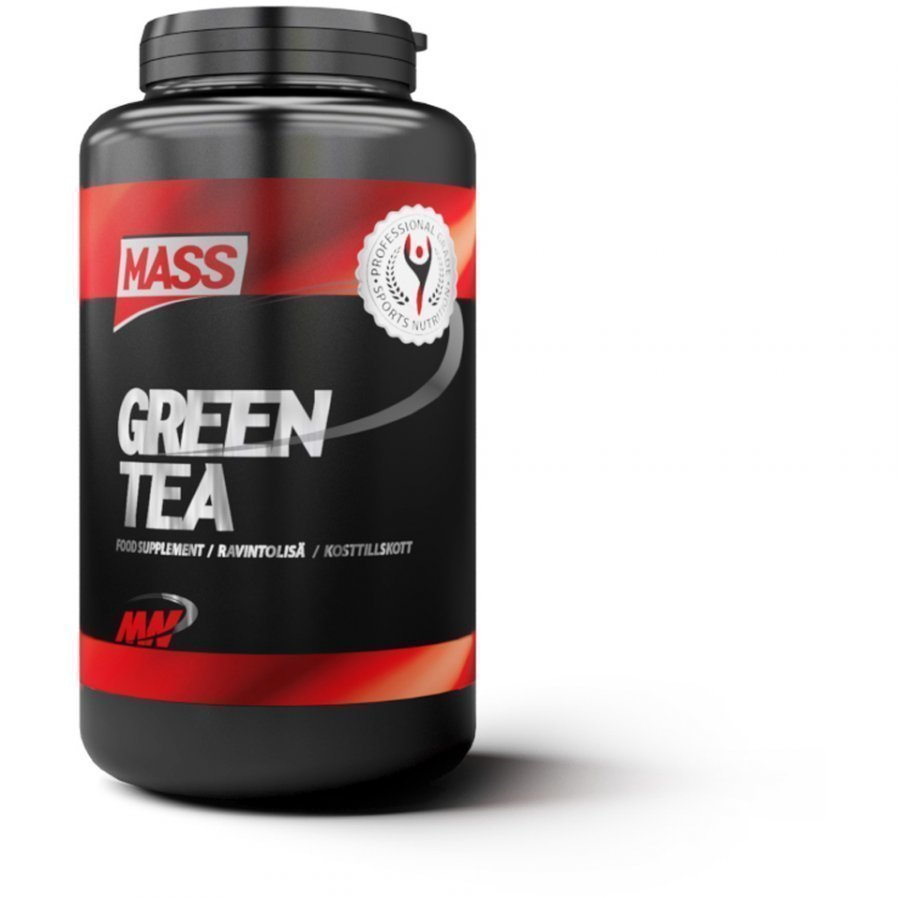 Mass Green Tea 180tablets Purkkia Maustamaton