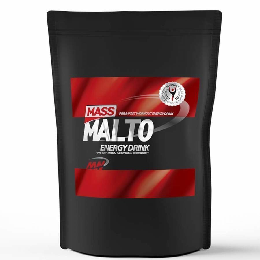 Mass Malto 5 Kg Pussi Maustamaton