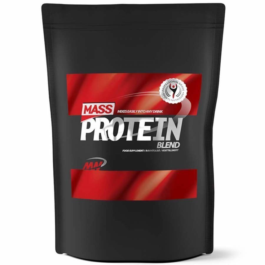 Mass Protein Blend 4 Kg Pussi Suklaa Maapähkinävoi