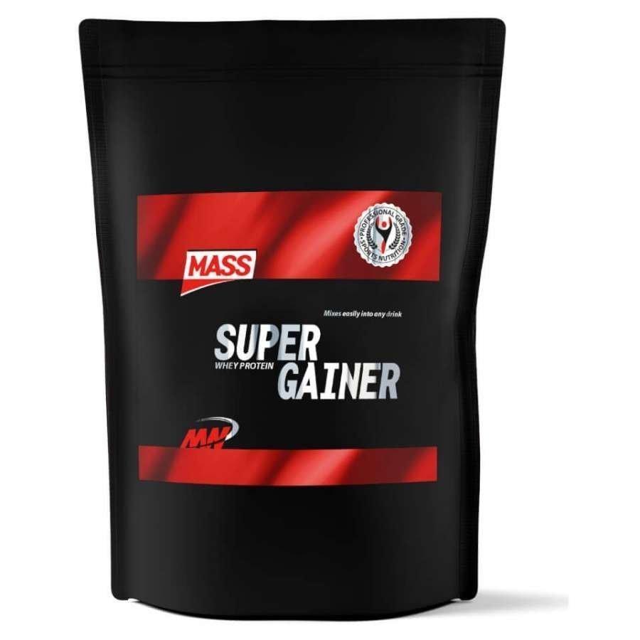 Mass Super Gainer 4 Kg Pussi Vanilja