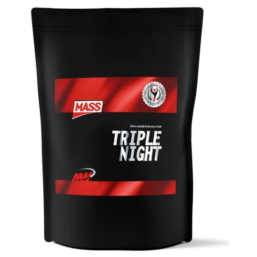 Mass Triple Night Protein 4 Kg Pussi Vanilja
