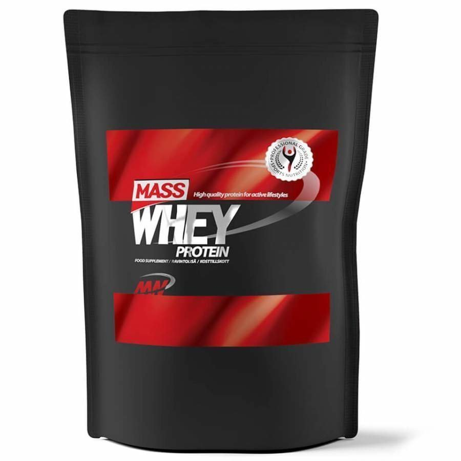 Mass Whey 4 Kg Pussi Raspberry
