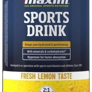 Maxim Sports Drink Fresh Lemon