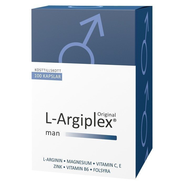 Medica Nord L-Argiplex Miehelle 100 kapselia