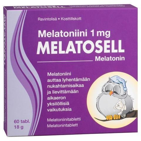 Melatosell Melatoniini